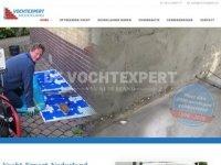 Screenshot van vochtexpert.nl