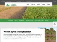 Screenshot van vanwaes.nl
