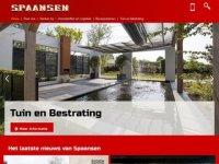 Screenshot van spaansen.nl