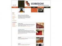 Screenshot van gobescki.nl
