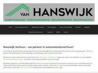 Van Hanswijk Marktkramen BV