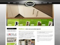 Screenshot van hedicodesign.nl