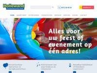 Screenshot van hollewand.nl