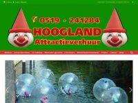 Hoogland Attractie Verhuur