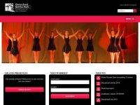 Screenshot van jazzdansschool.nl