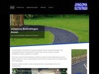 Screenshot van jongsmabestratingen.nl