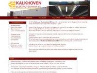 Kalkhoven elektrotechniek Zeist - Kalkhoven ...