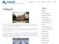 Meindert Kap - dakkapellen en ...