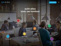Screenshot van kieft.nl