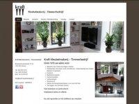 Screenshot van kraft-meubelmakerij.nl