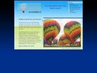 Screenshot van luchtballon.nl
