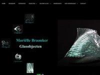 Marielle Braanker glasobjecten