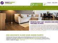 Screenshot van parketwinkel-zevenaar.nl