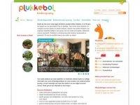 Screenshot van plukkebol.nl