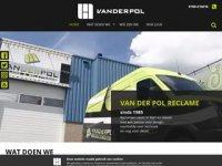 Van der Pol reclame & belettering