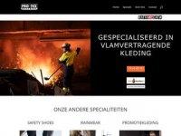 PRO-TEX Beroeps- en imagekleding