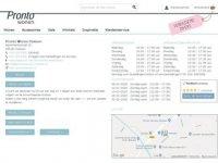 Screenshot van prontowonen-huissen.nl