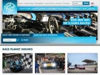 Screenshot van raceplanet.nl