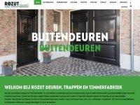 Screenshot van rozut.nl