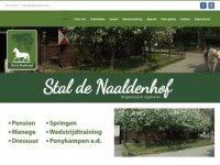 Stal de Naaldenhof is ongestoord en veilig ...