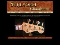 Stijlvorm gitaren, basgitaren en gitaarbouw