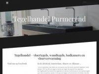 Screenshot van tegelhandelpurmerend.nl