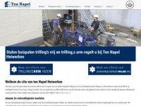 Screenshot van tennapel.nl
