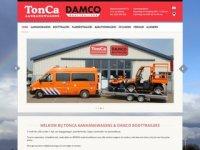 TonCa aanhangwagens - Winkel