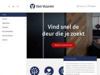 Screenshot van vanvuuren.nl