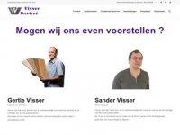 Screenshot van visserparket.nl