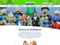 Screenshot van feesthoorn.nl