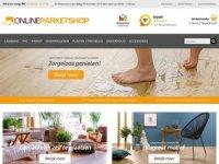 Screenshot van onlineparketshop.nl