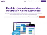 Dation Dashboard - rijschool software
