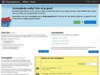 Screenshot van willengraaghebben.nl