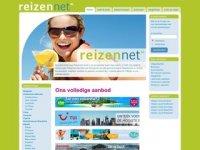 Screenshot van reizennet.nl