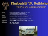 Klusbedrijf Willem Bethlehem