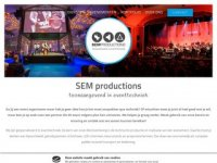 SEM-productions licht en geluid