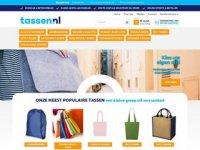 Screenshot van tassen.nl