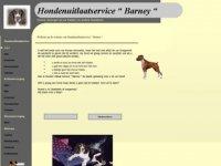 Hondenuitlaatservice Barney