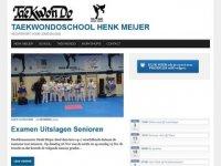 Henk Meijer Taekwondo