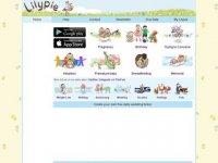 Screenshot van lilypie.com