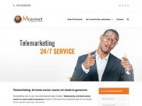 Screenshot van telemarketing.nl