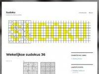 Sudoku pagina