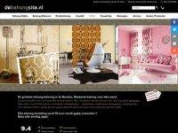 Screenshot van debehangsite.nl