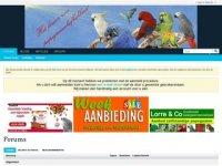 Screenshot van papegaaienforum.nl