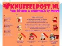 Knuffelpos - stuur een knuffel of kraammand