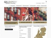 Screenshot van GeldXpert.nl
