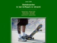 Skateboarden in het Griftpark