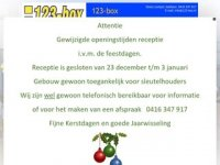 123-box Self-Storage Waalwijk