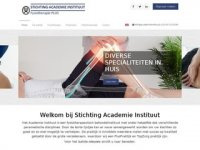 Stichting Academie Instituut in Utrecht - Uw ...